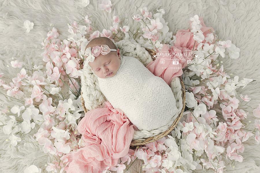 Skyler 8 days old las vegas newborn photographer