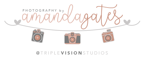 Photography by Amanda Gates logo